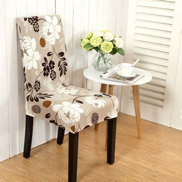 room with a view floral lawford dining chair world market honana wx 915 elegant flower landscape elastic stretch
