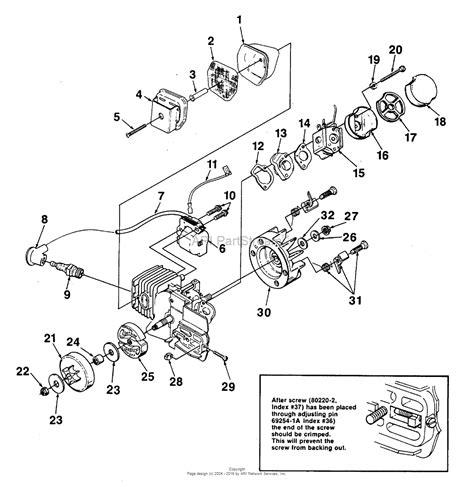 homelite xl parts diagram homelite xl chain saw ut 10655 parts diagram for