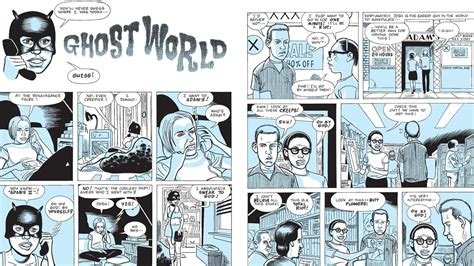 Pdf Ghost World Daniel Clowes by The Evolution Of Daniel Clowes Dazed