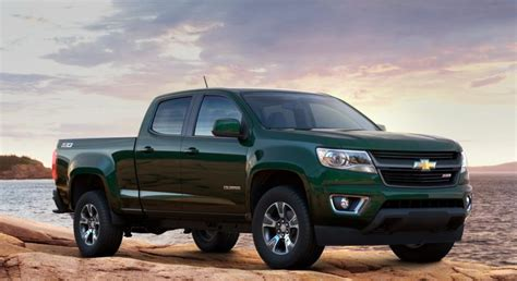 chevy colorado green 2015 chevrolet colorado will become available in 10 colors