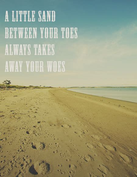 Love Quotes Sand Beach