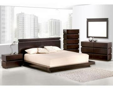 lana bedroom collection 187 lifestyle furniture 187 video contemporary wenge finish bedroom set 44b187set