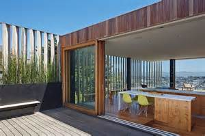 sliding doors innovative innovative san francisco residence offers amazing city views and ample