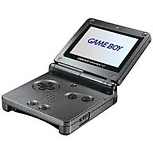 game boy advance model ags 101 graphite game boy advance sp system used
