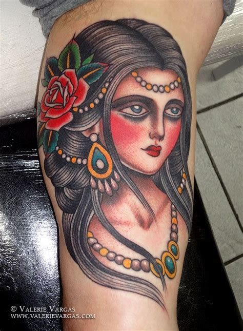 tattoo vargas girl the 13 best images about gipsy tattoos on pinterest