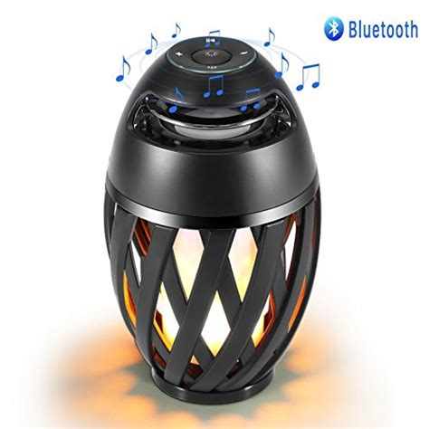 Christmast Bluetooth Speaker Table L With Led Light led l speaker table l bluetooth light outdoor indoor portable stereo bluetooth
