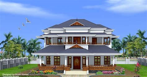 kerala home design thiruvalla green homes traditional style kerala home design 3450 sq feet