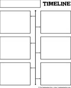 empty template free blank timeline template for pdf