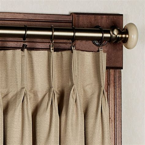 curtain with hooks how to hang pinch pleat curtains with pin hooks curtain