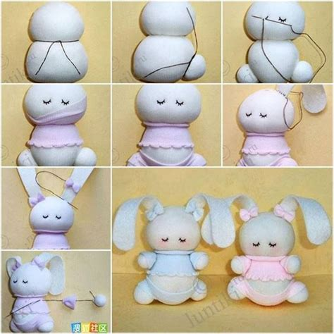 sock animals step by step 1000 ideas about sock bunny on sock dolls sock animals and sock crafts