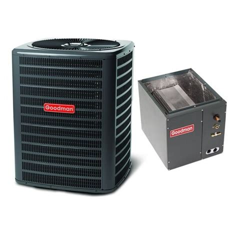 3 ton 14 seer goodman air conditioning condenser and coil gsx140361 capf3642c6 ebay