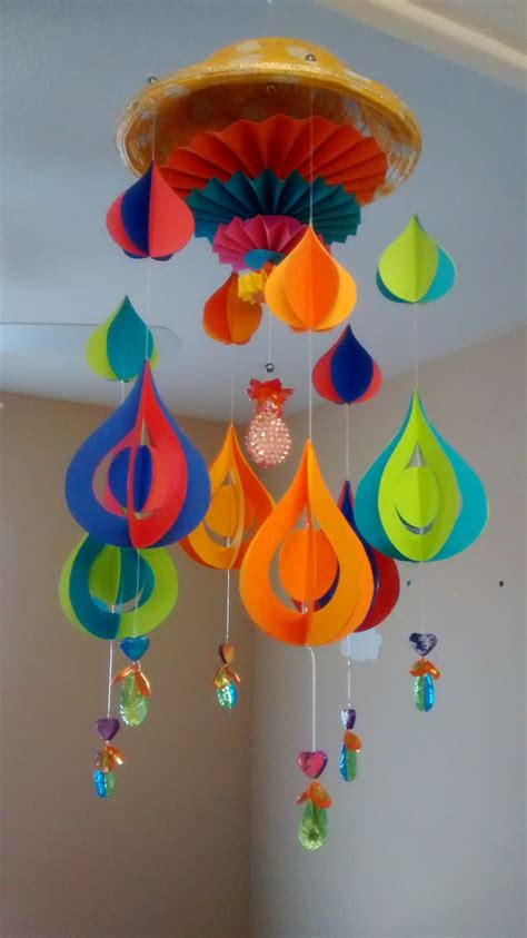arts and crafts made out of paper and craft diy paper wind chime