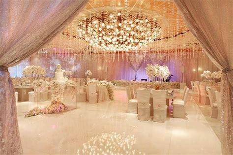 blush wedding reception decor pink weddings jevel