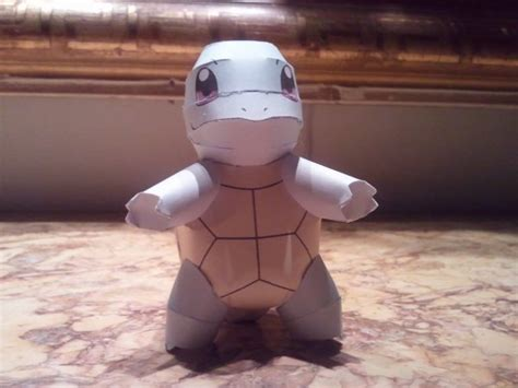 Squirtle Papercraft - chibi squirtle papercraft by fizzylemonade on deviantart