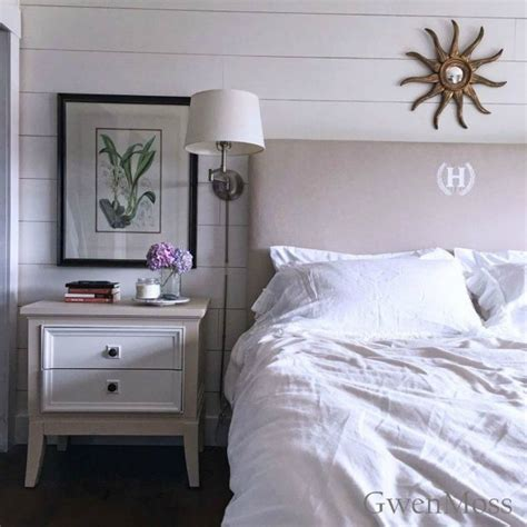 monogrammed headboard save your torn curtains for these 11 brilliant ideas