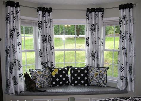 Curtains For Bow Windows Decor Bay Window Curtains Best 25 Kitchen Curtains Ideas On Kitchen Window