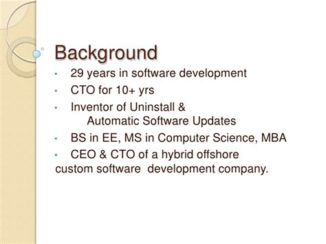 Mba Ms Computer Science by Managing Offshore Software Development