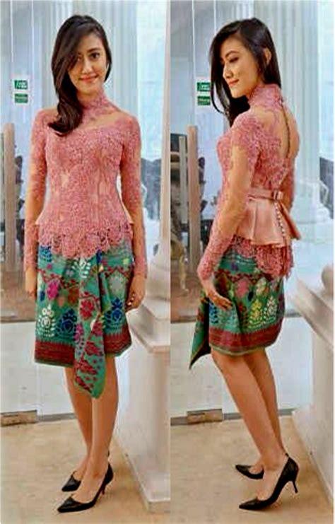 Kebaya Wanita 4 contoh desain model kebaya muslim modern terbaru wanita contoh desain model kebaya muslim