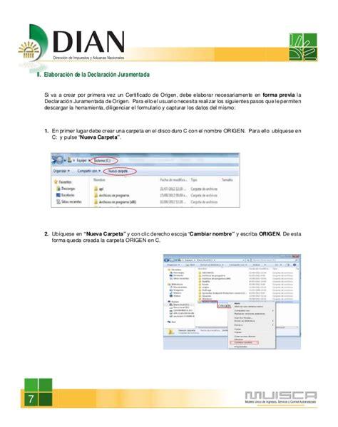 www contraloria gob servicio en linea declaracin juramentada manual para la creaci 211 n de certificados de origen