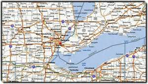 Map Of Detroit Michigan by Detroit Map 555 Metro Airport Transportation Service