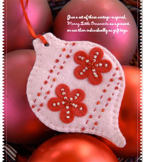 stumbles stitches christmas in july felt flora and
