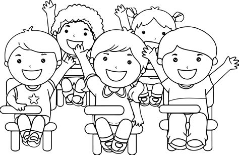 School Coloring Sheets by Coloring Pages Of Black Children At School Children S