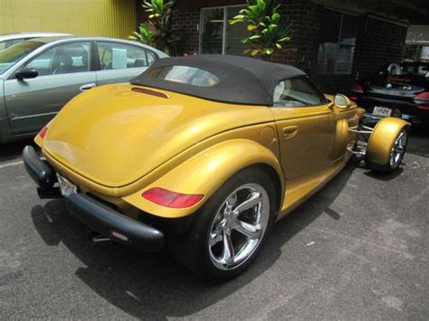 auto air conditioning repair 2002 chrysler prowler seat position control sell used 2002 chrysler plymouth prowler convertible 2 door 3 5l in keaau hawaii united states