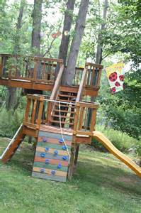 Backyard Treehouse Amazing Backyard Treehouse And How It Was Built Be A