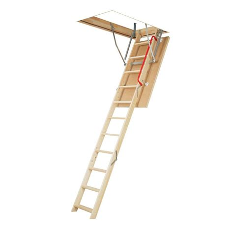 10 aluminum attic ladders ladders the home depot