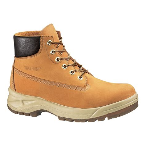 brown waterproof s boot keeps while you work