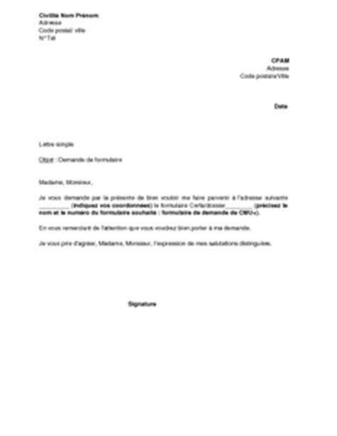 Modèle Lettre Envoi Document