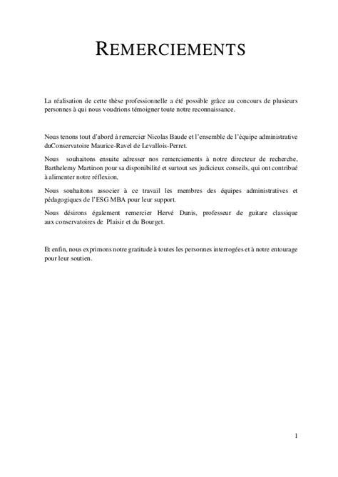 Lettre De Remerciement Collaboration Professionnelle Le Conservatoire Municipal Au Xxieme Sieclecatherine Ribierre L 233 A Bo