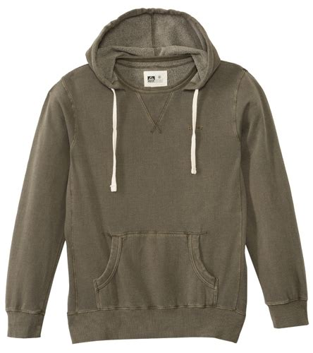Hoodie Pullover Reef reef s ringer pullover hoodie at swimoutlet free