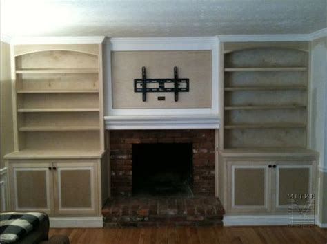 Built In Cupboards Next To Fireplace by Built In Cabinets Next To Fireplace Home Improvement