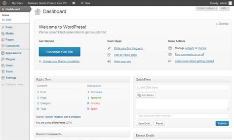 tutorial wordpress admin panel the domain afterlife drop catching domain sales