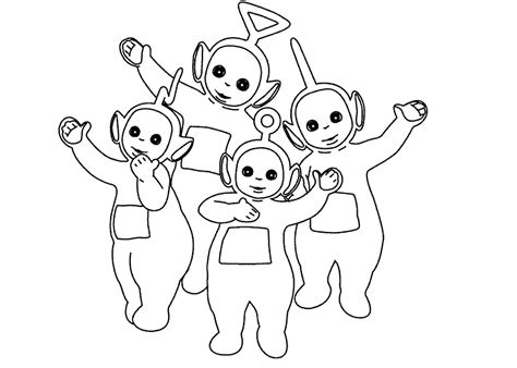 Teletubbies Coloring Pages by Teletubbies Coloring Pages Coloringpages1001