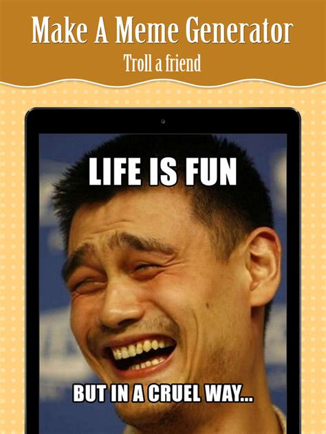 Meme Generator Custom - app shopper make a insta meme generator rage faces