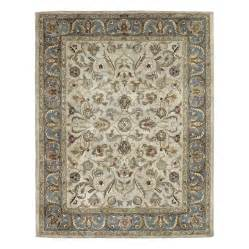 8x10 Area Rugs Lowes Shop Kaleen Mystic Rectangular Floral Wool Area Rug Common 8 Ft X 10 Ft Actual 8 Ft X