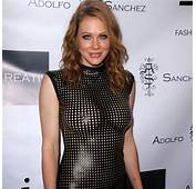 Celebrities In Leather Maitland Ward Wears A Hot Black Dress