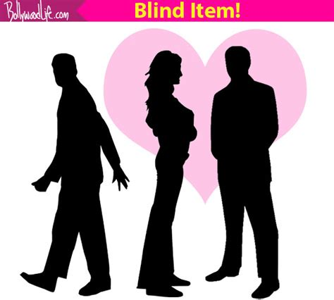Blind Item by Third Responsible For Trouble In Paradise Of A