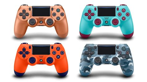 these four new ps4 controller colors are coming soon see