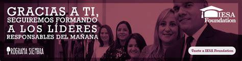 Iesa Mba Rankings by Inicio Iesa Escuela De Gerencia Con Cuatro