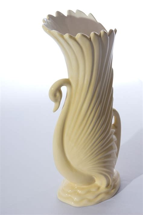 Swan Vase by 192 Best Treasures In Vintage Pottery Images On