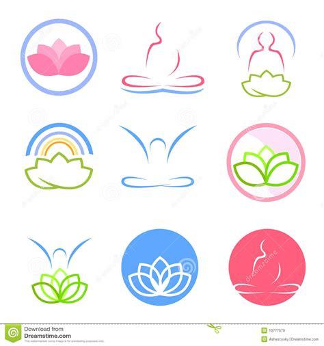 imagenes yoga vector vector de los logotipos de la yoga y del zen im 225 genes de