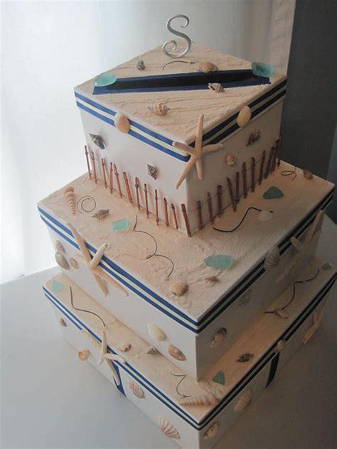 themed gift box ideas items similar to nautical beach theme wedding gift card