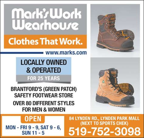 s work wearhouse opening hours 84 lynden rd