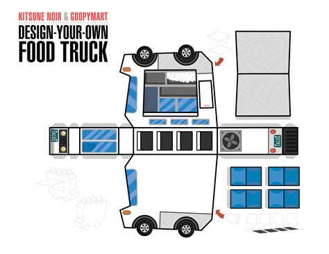 the gallery for gt papercraft truck templates