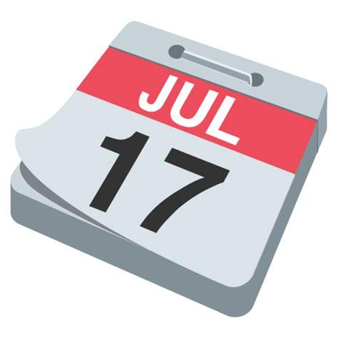 Calendar Emoji Tear Calendar Emoji For Email Sms Id