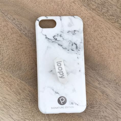 loopy accessories brand  marble loopy iphone