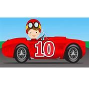 Free Racing Car Cartoon Download Clip Art